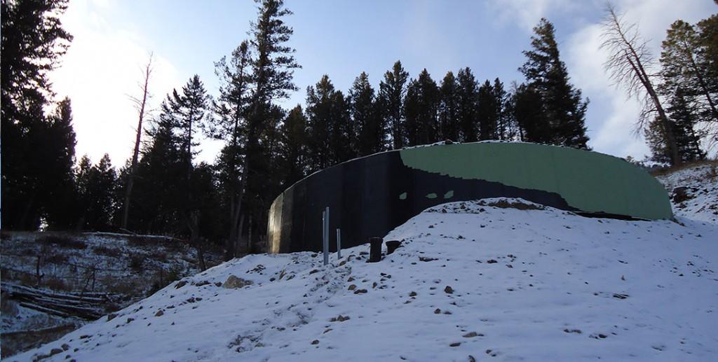 Snow King Water Tank